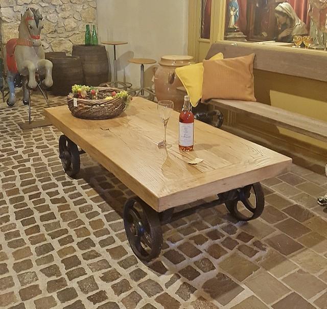 Spiksplinternieuw salontafels | Vieille France HT-12